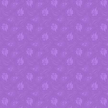 WP Grape Crush 39138 Medium Light Purple Paisley