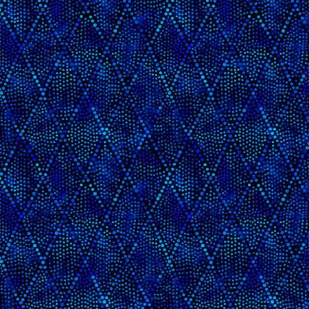 Blue Diamond Dots