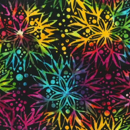 394Q-X  Full Bloom / Jacqueline de Jonge Batik
