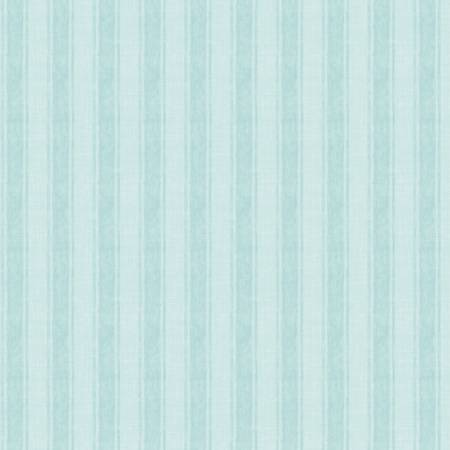 Coastal Wishes - Blue Stripe - by Susan Winget for Wilmington Prints