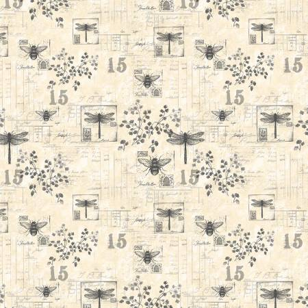 Harlequin Poppies Garden Toile Cream 39633 199
