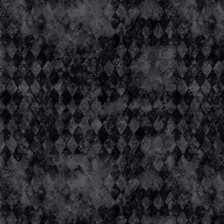 Harlequin Poppies Texture Black 39635 999