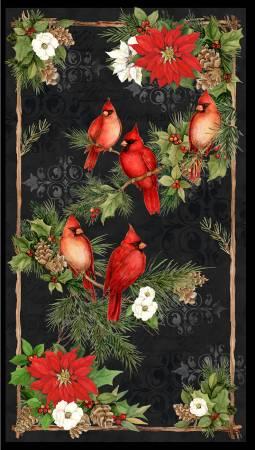Multi Cardinal Noel Large Panel