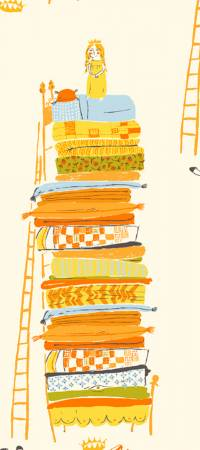 Yellow Princess and The Pea
