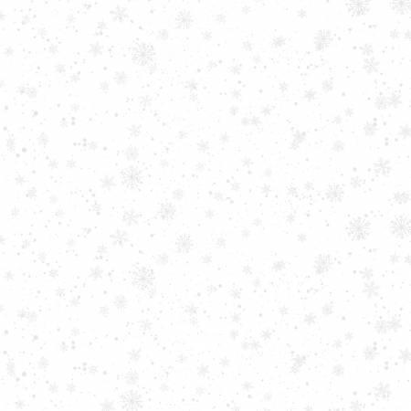Nose to Nose White SnowFlakes 39686 100