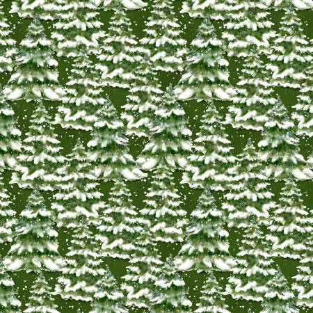 Green Trees Allover