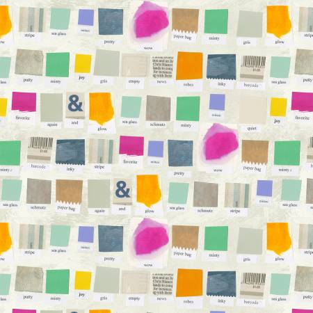Paper Swatch - Color Theory - Carrie Bloomston
