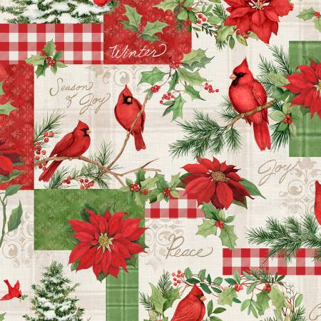 Season of Heart Large Patchwork by Susan Winget