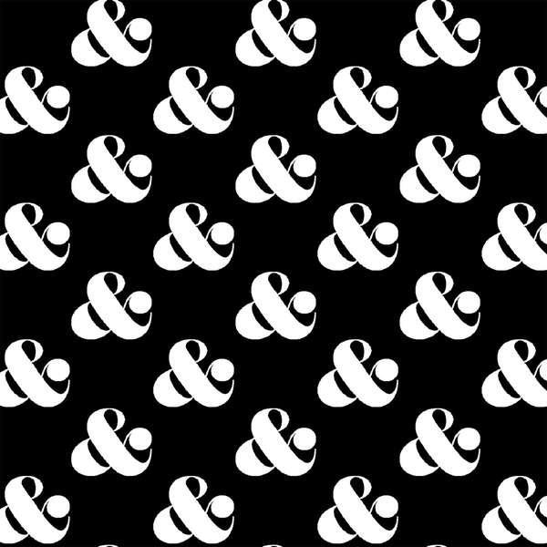 Black Set Ampersand