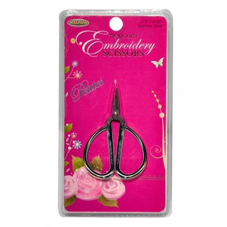 Petites Embroidery Scissors Silver