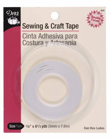 Basting Tape 1/8in x 8 1/3yds