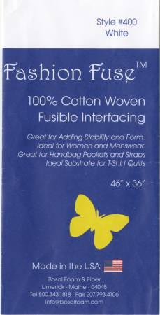 Bosal Fashion Fuse 100% Cotton Woven Fusible Interfacing