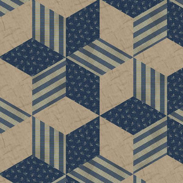 Blue Designer Cloth
