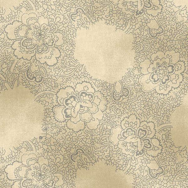Grey Antique Floral