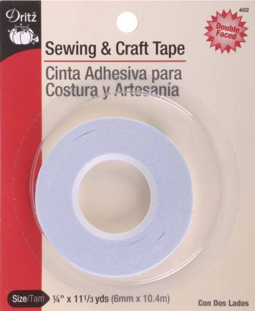 Dritz Sewing & Craft Tape 1/4in x 11 1/3yds