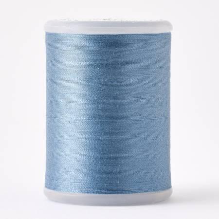 Cosmo Tsu Mu Gi 40wt 2ply Cotton Thread 500m Slate Blue