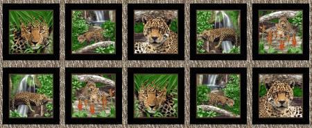 On the Wildside Leopard Blocks