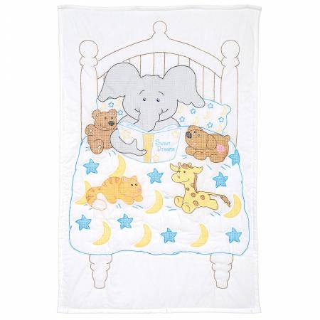 Bedtime Stories Crib Quilt Top - 40 x 60