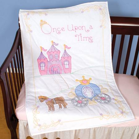 Once Upon A Time Crib Quilt Top