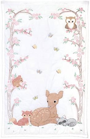 Deer & Friends Crib Quilt Top