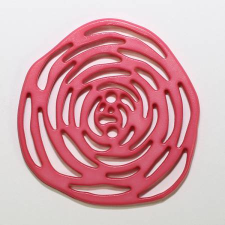 Polyamide Button 40mm Pink