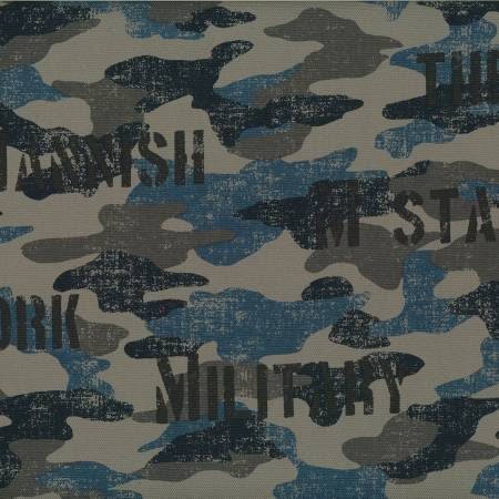 Oxford Cotton Camo 70