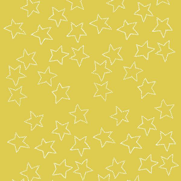 Citrus Stella Corduroy White Dot Yellow Star