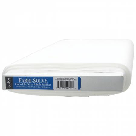Fabri-Solvy Washaway Stabilizer White 20in x 25yds