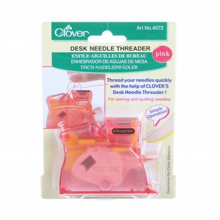 Brilliant Pastel Desktop Needle Threader Pink