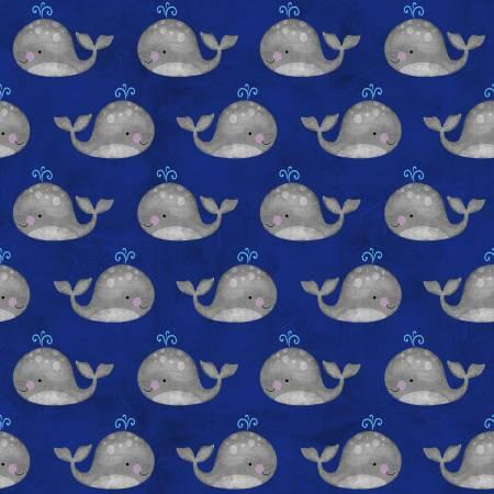 Anchors Away Navy Mini Whales 4079-77
