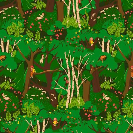 Green Climbing Trees