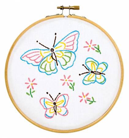 Fluttering Butterflies 6 Hoop Kit