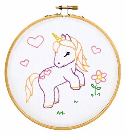 Baby Unicorn 6 Hoop Kit