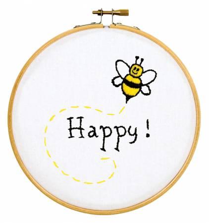 Bee Happy 6 Hoop Kit