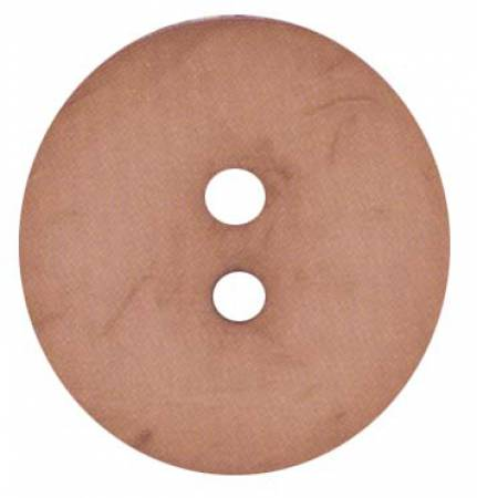 Round Polyamide Salmon Button 2 3/8in
