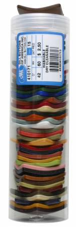 Square Polyamide Mixed Color Buttons 2-3/8in