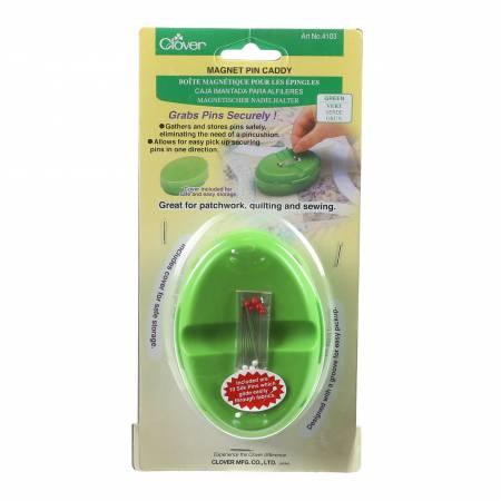 Magnetic Pin Caddy Green