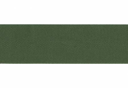 Cotton & Polyester Webbing 2in Forest