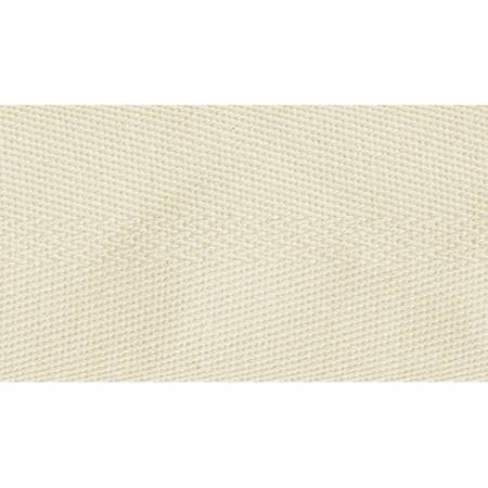 Poly/Cotton Twill Ivory 2in