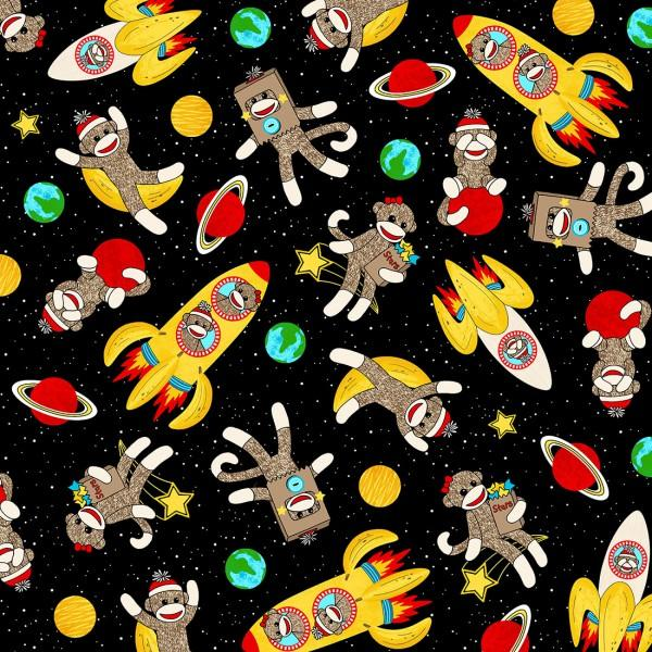 Sock Monkeys in Space