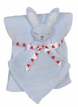 Bunny Blankey Buddy Set Blue