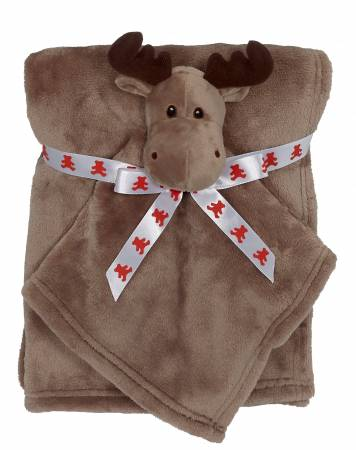 Moose Blankey Buddy Set