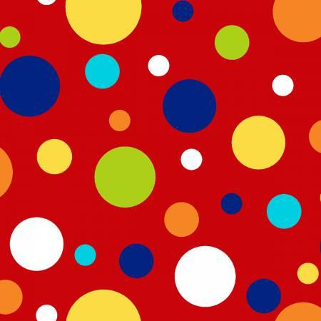 Red Large Dots