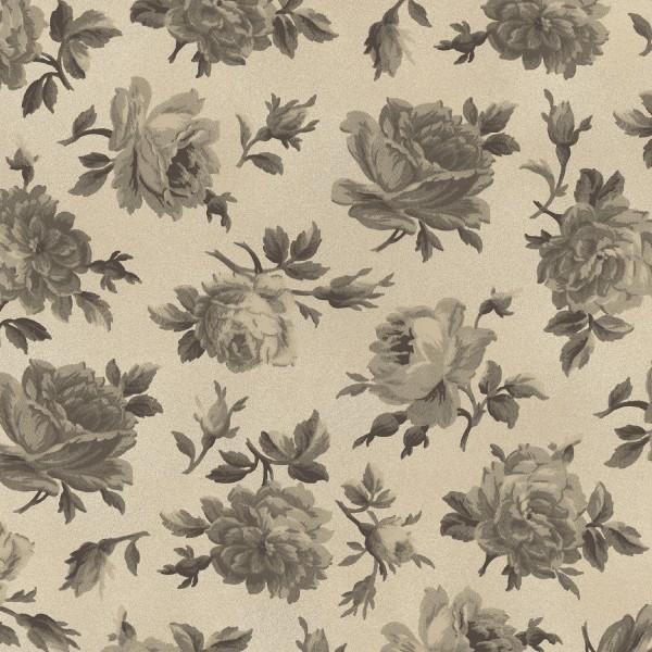Bone Medium Floral