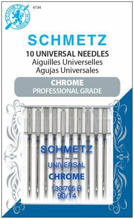 Schmetz 90/14 Chrome Universal Needles 10ct