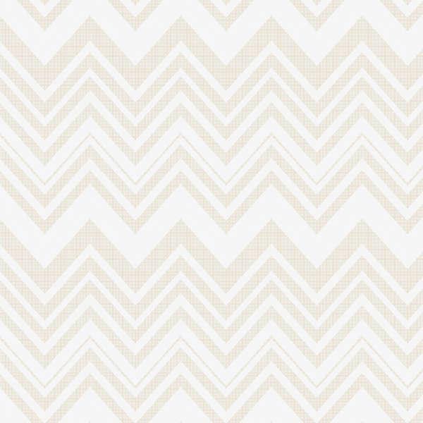 4141402 02 White/Silver Metallic Heavy Chevrons Camelot Fabrics