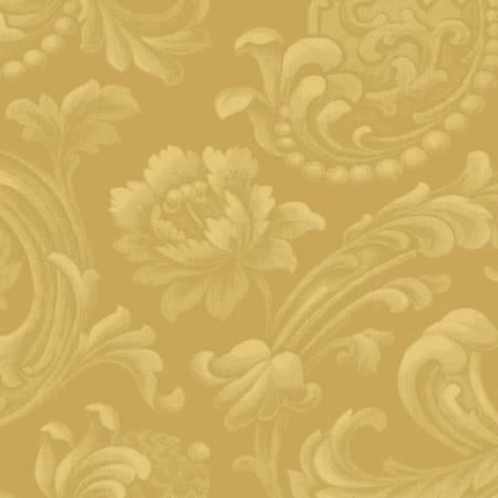 Gold Floral Brocade