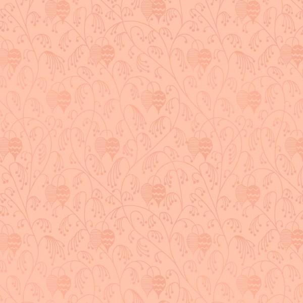 Peach Print Lantern Flower