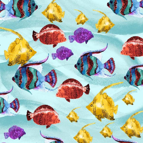 Under the Sea Tropical Fish - Multi