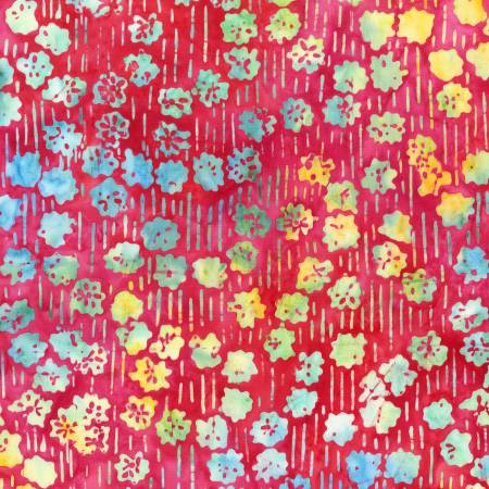 Art Decor Rainbow Mini Mums Batik by Anthology